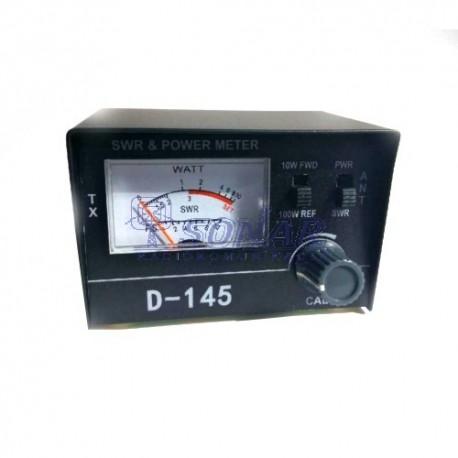 Miernik D145 SWR wraz z PWR