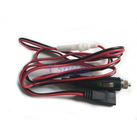 Kabel zasilający 3PIN  z wtykiem zapalniczki