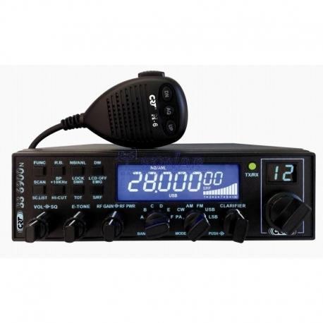 CRT SS-6900N BLUE AM/FM/USB