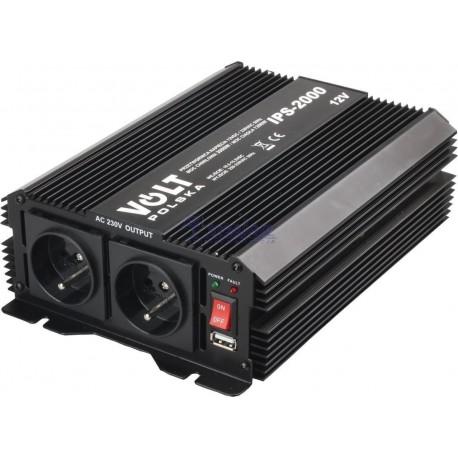 PRZETWORNICA NAPIĘCIA IPS 2000W  12/230V