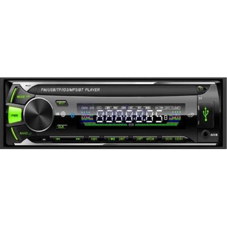 Radio samochodowe VK-8605BT Green USB bez CD