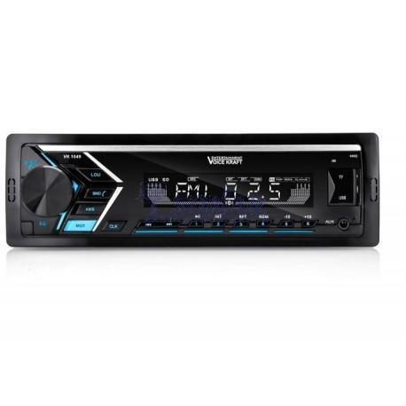 Radio Samochodowe VK 1049 Blue z USB i BT, bez CB