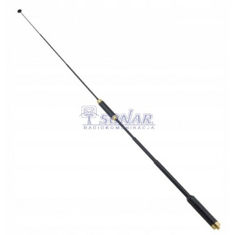 Antena AL 800 BF 144-430 MHz, 23-86cm, 2 w 1 do Baofeng UV5,82