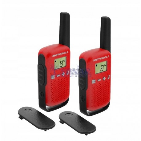 Motorola T42 Red PMR