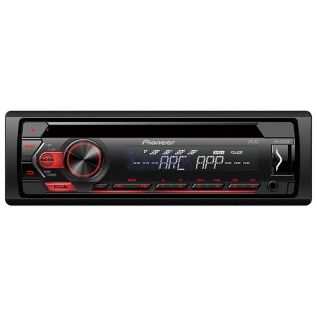 RADIO SAMOCHODOWE CD DEH -S120UB  CD+USB RED