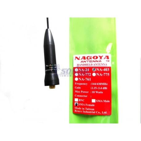 NA 403 NAGOYA SMA-F  VHF/UHF DO CRT 2 FP / UV5R./ UV82 - 39 cm