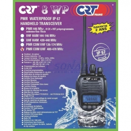 CRT 8WP PMR WODOODPORNY IP67