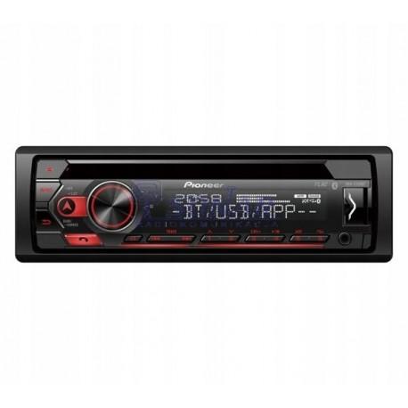 radio samochodowe Pioneer CD DEH-S320 CD+USB+BT RED