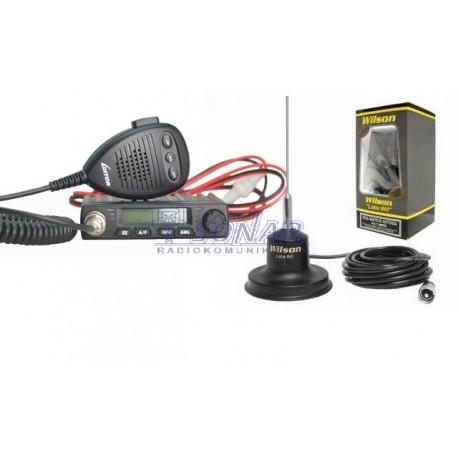 Zestaw Radio CB Luiton LT-198 wraz zantena magnetyczną Wilson