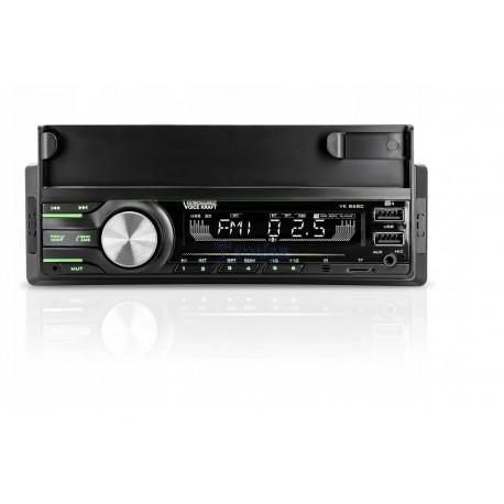 RADIO SAM. VK-8680 BT+USB ,7 KOLORÓW PODŚWIETLENIA