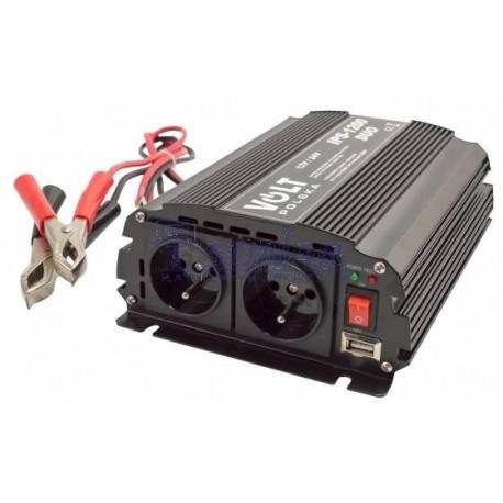 Przetwornica IPS 1200 DUO 12/24V 230V 600/1200W