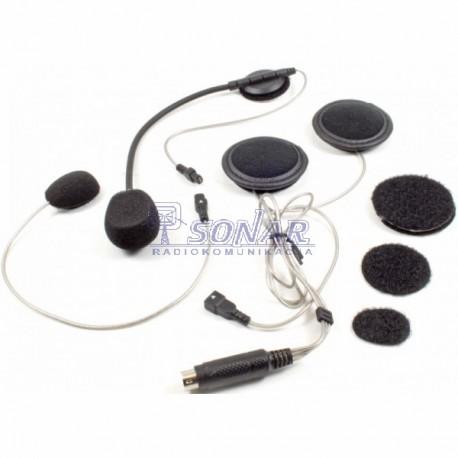 Uniwersalny zestaw słuchawkowy dla motocyklisty