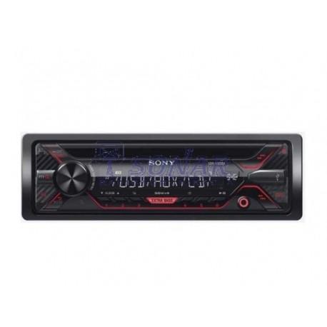 RADIO SAMOCHODOWE SONY CDX-G1200U CD+USB RED