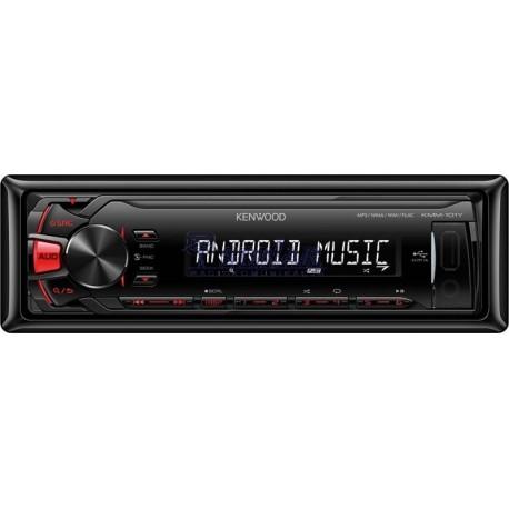 Radio Samochodowe Kenwood KMM-103RY BEZ CD/AUX+USB RED
